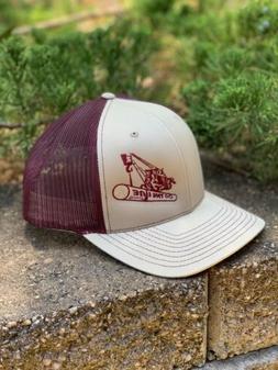 Richardson 112 Pipeliner Snapback Hat, C