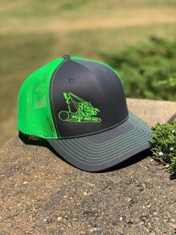 Richardson 112 Pipeliner Snapback Hat, Custom, Trucker Cap f