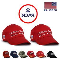 2-Pack MAGA Make America Great Again President Donald Trump