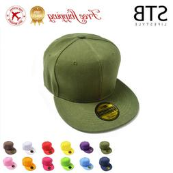 2019 Men Blank Plain Snapback Hats Unisex Hip-Hop Adjustable