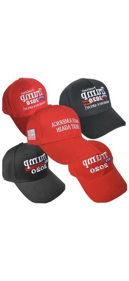 2020 Donald Trump Mega Cap Baseball Hats Black USA SELLER FA