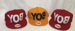 3 Hats Boy Girl 2 Red 1 Orange