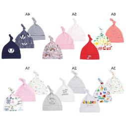 3PC Boys Girls Baby Beanie Knot Hat Toddler Adjustable Cap F