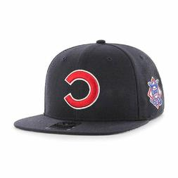 '47 Brand Chicago Cubs Sure Shot Adjustable Snapback Hat - N