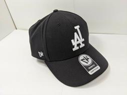 '47 Brand Los Angeles LA Dodgers Clean Up Dad Hat Cap Black