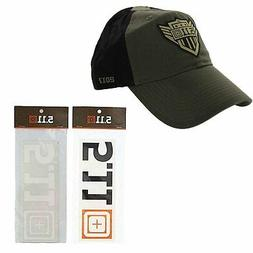 5.11 Tactical Tundra Cap + Decal Sticker Hat Special Kit Gif