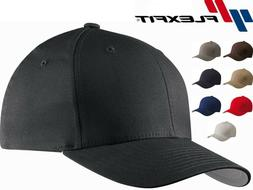 Flexfit - V-Flex Cotton Twill Fitted Baseball Cap Blank Plai