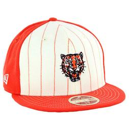 "New Era 5950 Detroit Tigers ""Vintage Stripe"" Fitted Hat  Men"