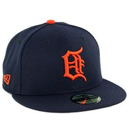 New Era 59Fifty Detroit Tigers ROAD Fitted Hat  MLB Cap