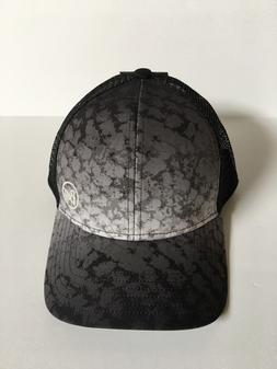 Buff 10-4 Snapback Trucker Cap Hat Silver Shad - Black & Gra