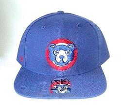CHICAGO CUBS '47 Pro Fitted Flat Brim Hat  Blue Forty Seven