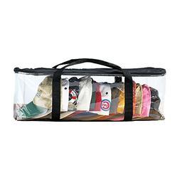 Houseables Hat Storage Organizer, Baseball Cap Bag, Washer C