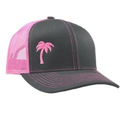 Lindo Trucker Hat Palm Tree
