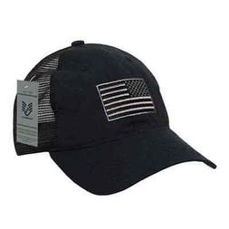 Rapid Dominance Ripstop Men's Embroidered USA Flag Trucker C