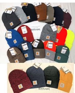 Carhartt A18 Acrylic Knit Watch Cap Hat  ALL COLORS!!  Ready