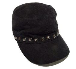 August Accessories Women's Black Hat One Size