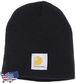 Carhartt Men's Acrylic Knit Hat,Black,One Size