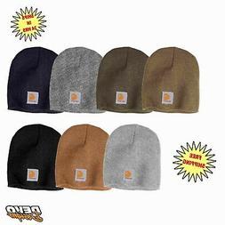 Carhartt Acrylic Knit Hat Beanie Cap Mens A205 NEW Many Colo