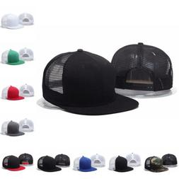 Adjustable Snapback Trucker <font><b>Baseball</b></font> Cap
