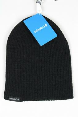 Columbia Ale Creek Beanie Snow Winter Hat One Size Black