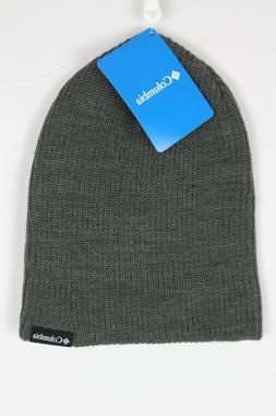Columbia Ale Creek Beanie Snow Winter Hat One Size Charcoal