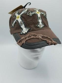 Angela & William Cadet Cross Hat Cap, NWT