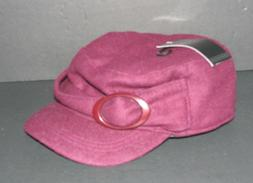 angela and william plum newsboy womens hat