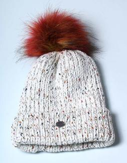 Angela & William Pom Pom Beanie Faux Fur Hat Cap  PomPom  Ge