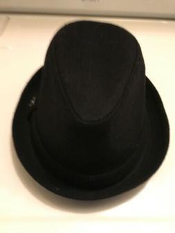 Angela & William Women's Black Wool Blend Hat Sz Lg/XL NWT