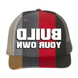 Any Logo Custom Leather Patch Richardson 112 or 115 Hats. Ma