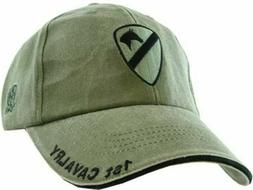 ARMY 1ST CAVALRY DIVISION HAT EMBROIDERED U.S MILITARY BALL