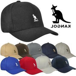 Authentic Kangol Men's Wool Flex-Fit Baseball Cap Hat 8650BC