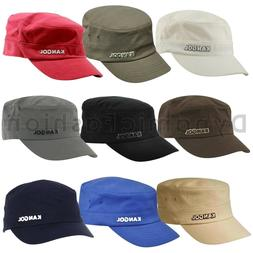 Authentic Mens KANGOL Army 9720BC Flexfit Cotton Twill Cap H