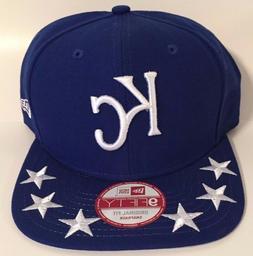 Authentic MLB Kansas City Royals Men Hat New Era 9Fifty Blue