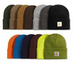 CARHARTT Authentic Watch Hat, Knit Beanie, Cap All Colors in
