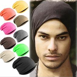 Autumn/Winter Men's Skullies Beanies Hat Cap Cotton Turtlene