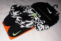 Nike Baby Boys Booties Socks Hat Outfit Black Infant Set 0-6