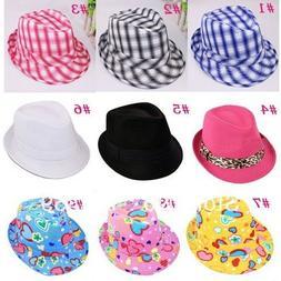 Baby, Kids, Children's and Toddler, Boys & Girls Fedora Hat
