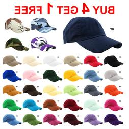 Falari Baseball Cap 100% Cotton Golf Cap Hat Adjustable Polo