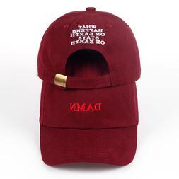 Baseball Cap Dad Hat Hip Hop Cap Embroidery Unstructured Bon