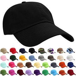 Falari Baseball Cap Hat 100% Cotton Adjustable Size  1801