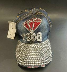 Baseball Cap Hats, BLUE, GREAT GIFT, GIRLS, BOSS