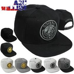 Baseball Cap Mexico Hat Snapback Federal Logo Embroidered Me