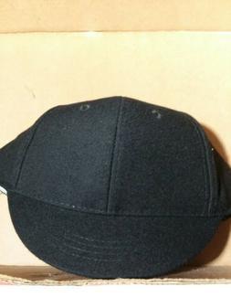Baseball/Softball Black umpire snap back plate hat NEW by V