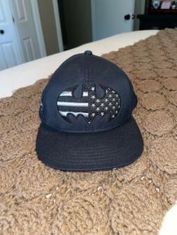 Under Armour Batman American Flag Hat Mens Snap Back Cap OSF