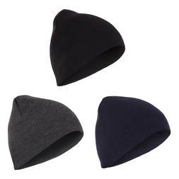 Casaba Beanies Hat Cap for Men Women Short Ski Toboggan Knit