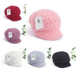 Best Quality Women Winter Warm Knit Hat Wool Snow Ski Caps W
