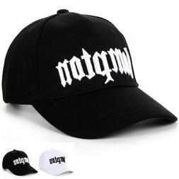 Black Adjustable Hip hop Bill Snap-Back Compton Baseball Cap