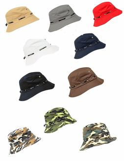 Bucket Fisherman Hat Cap Polyester Fishing Brim visor Sun Sa