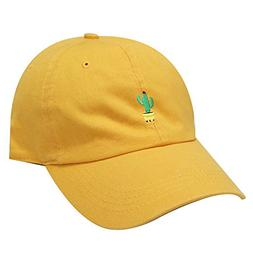 City Hunter C104 Cute Cactus Cotton Baseball Dad Cap 19 Colo